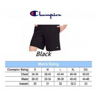 6中: Champion 全棉短褲 Black 黑色