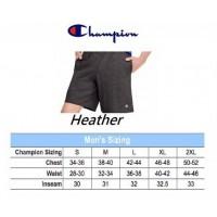 6中: Champion 全棉短褲 Heather 深灰色