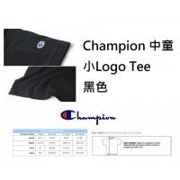 6中: Champion 中童小Logo Tee 黑色