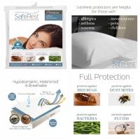 3底: Saferest 防敏防塵蟎枕頭套 (Standard) (買床單送枕頭套優惠連結)