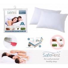 4中: Saferest Classic 防敏枕頭套 (薄身版單隻計) (買床單送枕頭套優惠連結)