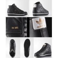 4底: Adidas Pro Model 男裝鞋 (黑色)