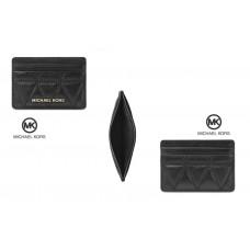 3底: Michael Kors 壓紋卡套 (黑色)