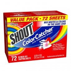 7中: Shout ColorCatcher 防染色洗衣紙 (72張)