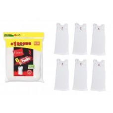 4底: Hanes 男童全棉底衫 (1套6件)