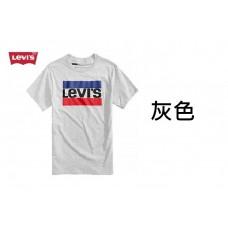 4底: Levi's 紅藍LOGO大人上衣 灰色