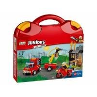 4底: LEGO Juniors 10740 手提收納盒 紅色