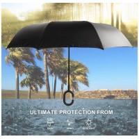 4底: 美國210T跣水物料遮 長傘款