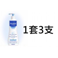 3中: Mustela 護膚沐浴啫哩 (1套3支)