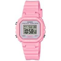 5底: Casio 粉紅色防水電子手錶 LA20WH-4A1