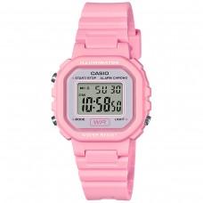 6底: Casio LA20WH-4A1 防水電子手錶 (粉紅色)