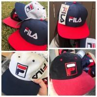 6底: FILA 經典Logo帽 (款式隨機)