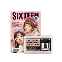 5中: Sixteen 16brand 懶人眼影