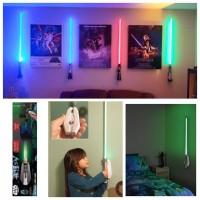 6底: Star Wars 激光劍牆燈 綠色