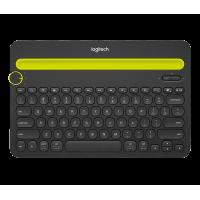 6底: Logitech 3合1全能鍵盤
