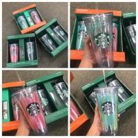 7底: Starbucks 單隻裝飲管杯 (顏色隨機)