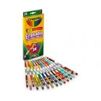12底: Crayola 24色擦得甩木顏色