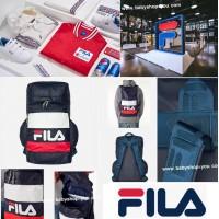 12底: FILA 背包 (紅白藍色)