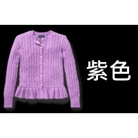 12底: Ralph Lauren Polo 女童冷外套 紫色