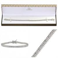 12中: Giani Bernini 純銀鑽石手鏈