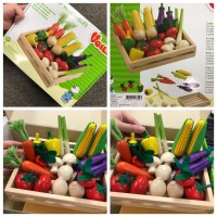 1中: 木造水果玩具