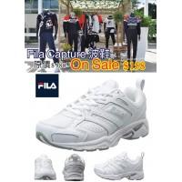 2中: FILA Capture 女裝波鞋系列 (全白色)