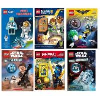 現貨: LEGO 公仔連故事書 (款式隨機)