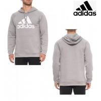 2底: Adidas 男裝衛衣 (灰色)