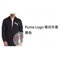 2底: Puma Logo 衛衣外套 黑色 L