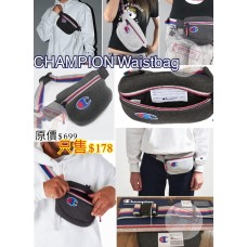 3底: Champion Waistbag 腰包 (深灰色)
