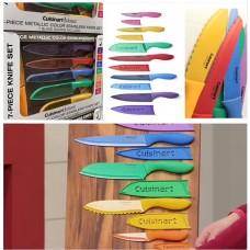 4底: Cuisinart 7+7 系列彩色不銹鋼刀