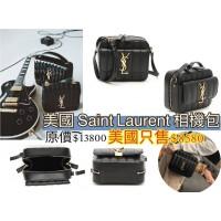 3底: YSL 相機包包 (黑色) (空運)