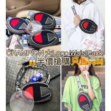 4中: Champion 大C LOGO款斜咩袋 (深灰色)