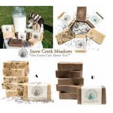 7底: SnowCreek Meadows 羊奶皂 (味道隨機)