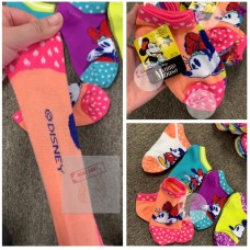 5底: Minnie 米妮小童襪 (1套5對)