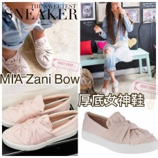 5底: MIA 大蝴蝶厚底女神鞋 (淺粉紅色)