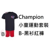 6中: Champion 小童運動套裝 B-黑衫紅褲