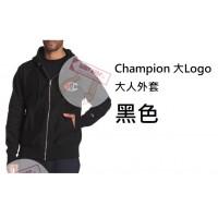 6底: Champion 大Logo大人外套 黑色
