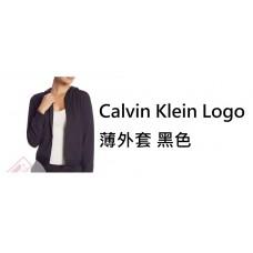 6底: Calvin Klein Logo 薄外套 黑色