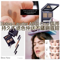 6底: Estee Lauder All in One 2色眉粉