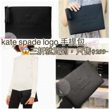 7中: Kate Spade 流蘇手提包包 (黑色)