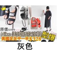 8中: Nike Tajun 女裝涼鞋 灰色