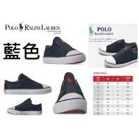 8底: Ralph Lauren Polo 經典小童鞋 藍色