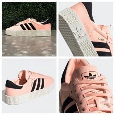 9中: Adidas Sambarose 女裝厚底波鞋 (粉紅色)