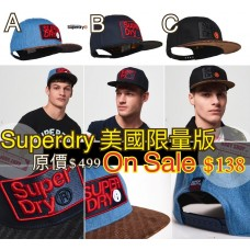 9中: Superdry 大LOGO帽