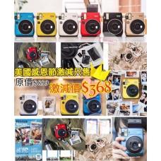 9底: Fujifilm Instax Mini 70 即影即有相機