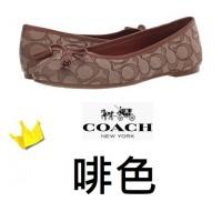 9底: Coach 平底鞋 啡色