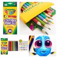 9底: Crayola 24色普通款木顏色 (1套2盒)