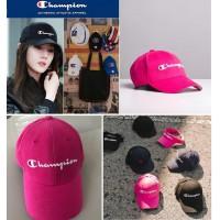 10底: Champion Twill Hat 經典Cap帽 (深粉紅色)