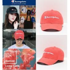 11中: Champion Twill Hat 經典Cap帽 (珊瑚橙色)